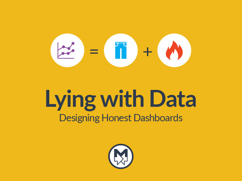 Lying with Data Cover Slide
